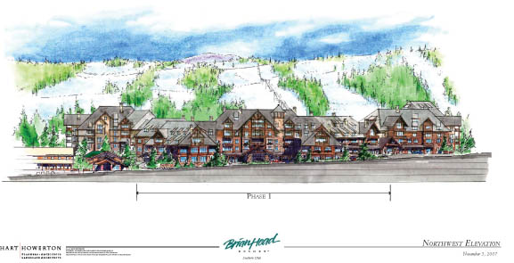 Brian Head Skier Village Rendering
