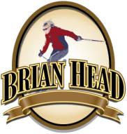 Brian Head Logo with Skiier